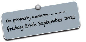 on property auction Friday 24th of September 2021